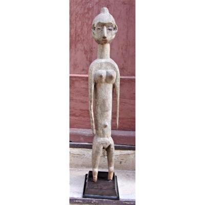 Sculpture Bois Tiv Du Nigéria XIXème