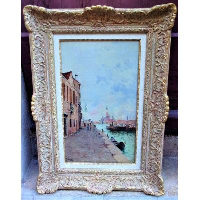 Venise Par François Nardi 1861-1936