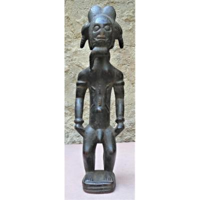 Trés Belle Et Ancienne Statue Baoulé Blolo Bian de Côte d'Ivoire