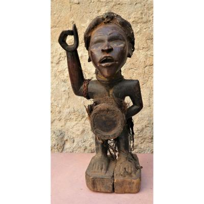 Fétiche Reliquaire ancien  Nkonde, Nkisi , Kongo - Zaïre