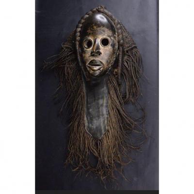 Masque Dan Ancien De Côte d'Ivoire Historique