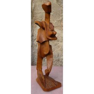 The Walking Woman By Vincent Gonzalez 1928-2019