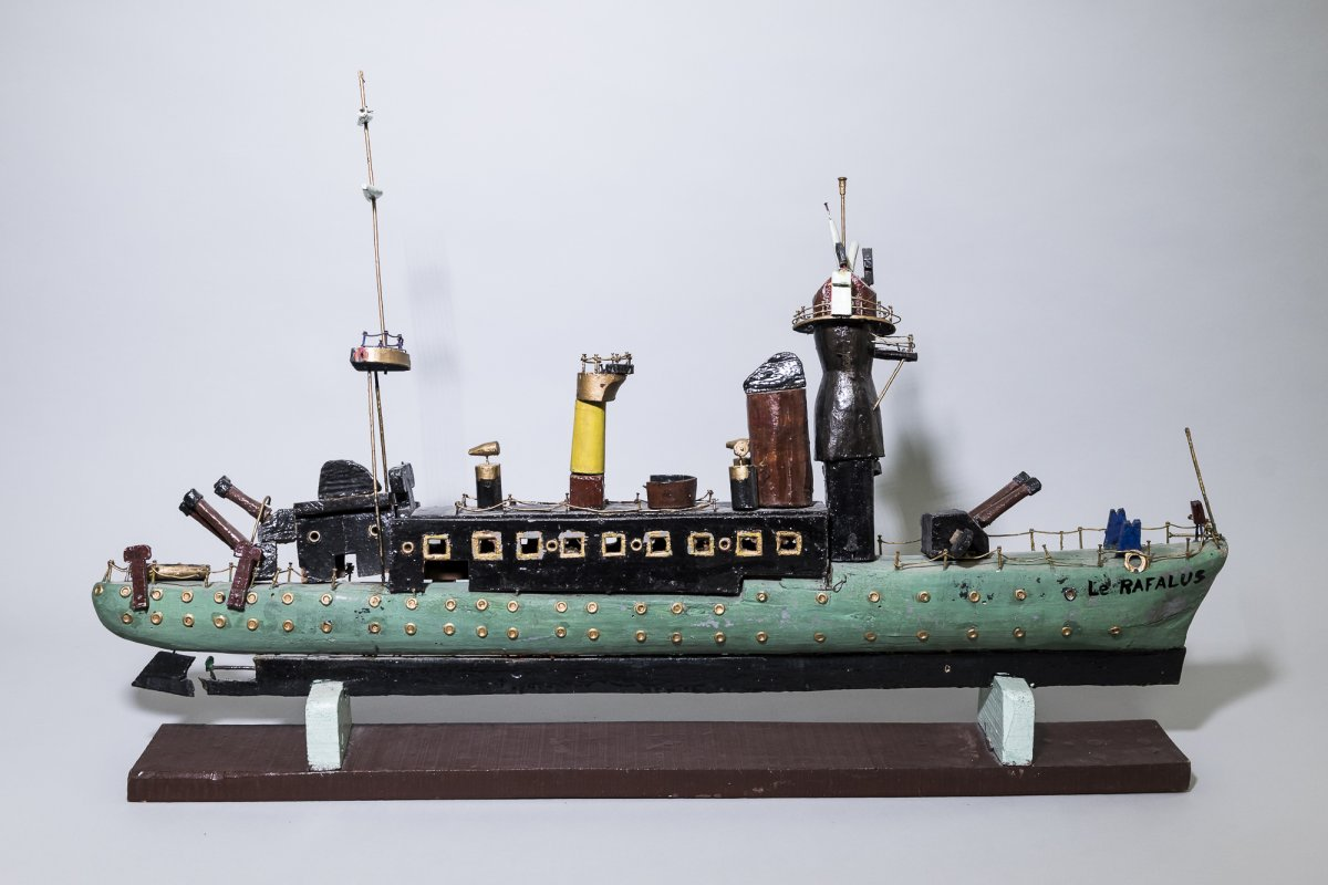 Popular Model Of A Torpedo Boat