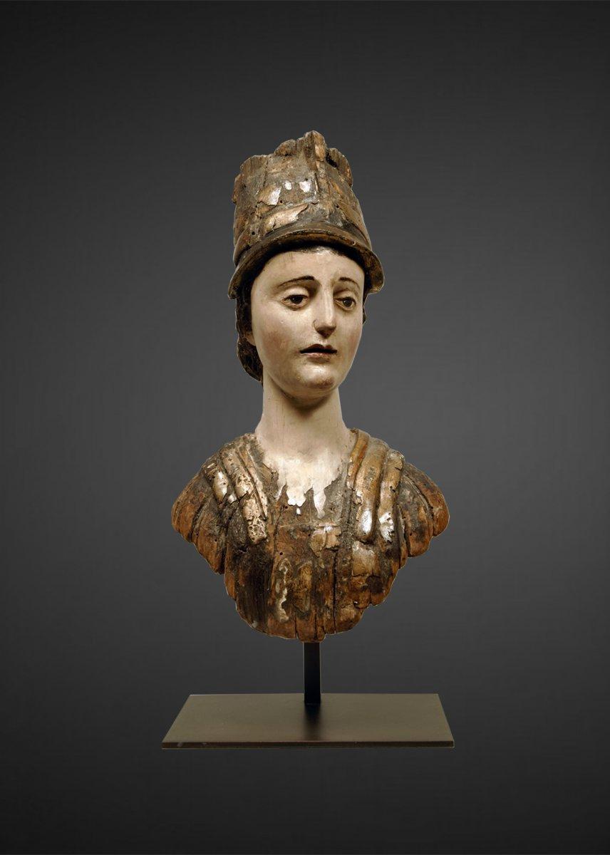 Figurehead, Bust Of Minerva