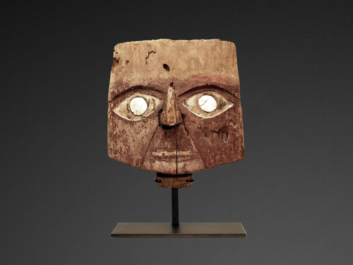 Chancay Funeral Mask