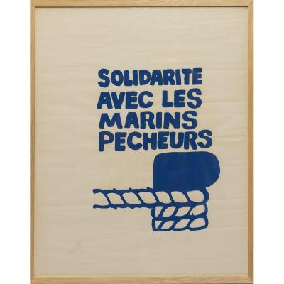 Solidarity Poster With Fishermen