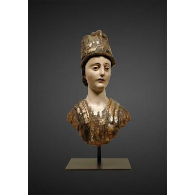 Figurehead, Bust Of Minerva