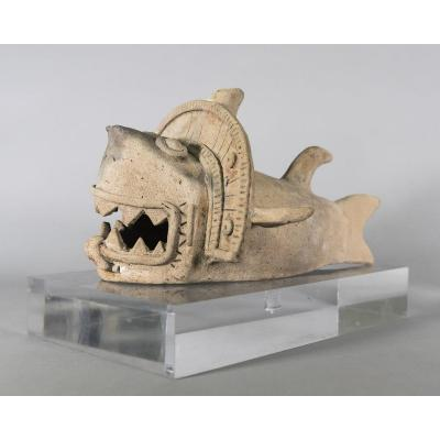 Mythological Shark Figure