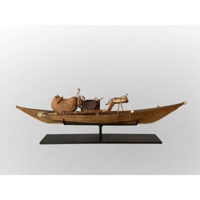 Modèle De Kayak Inuit