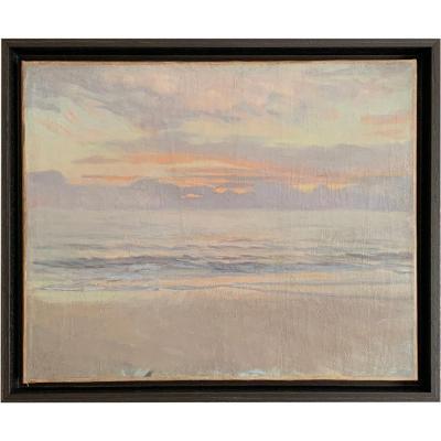 La Plage au soleil couchant par Charles Fouqueray (1869 – 1956)