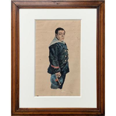 Jeune marin par Marcelin Desboutin (1823 -1902)