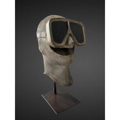Cagoule et masque d'un plongeur par Ben Jakober