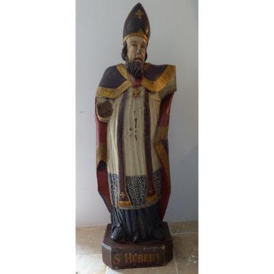 Sculpture Saint Hubert