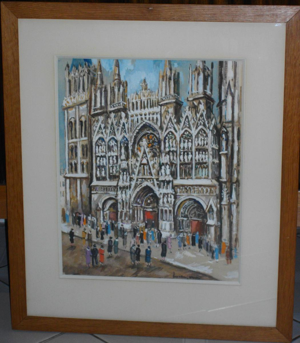 Genin Lucien The Rouen Cathedral