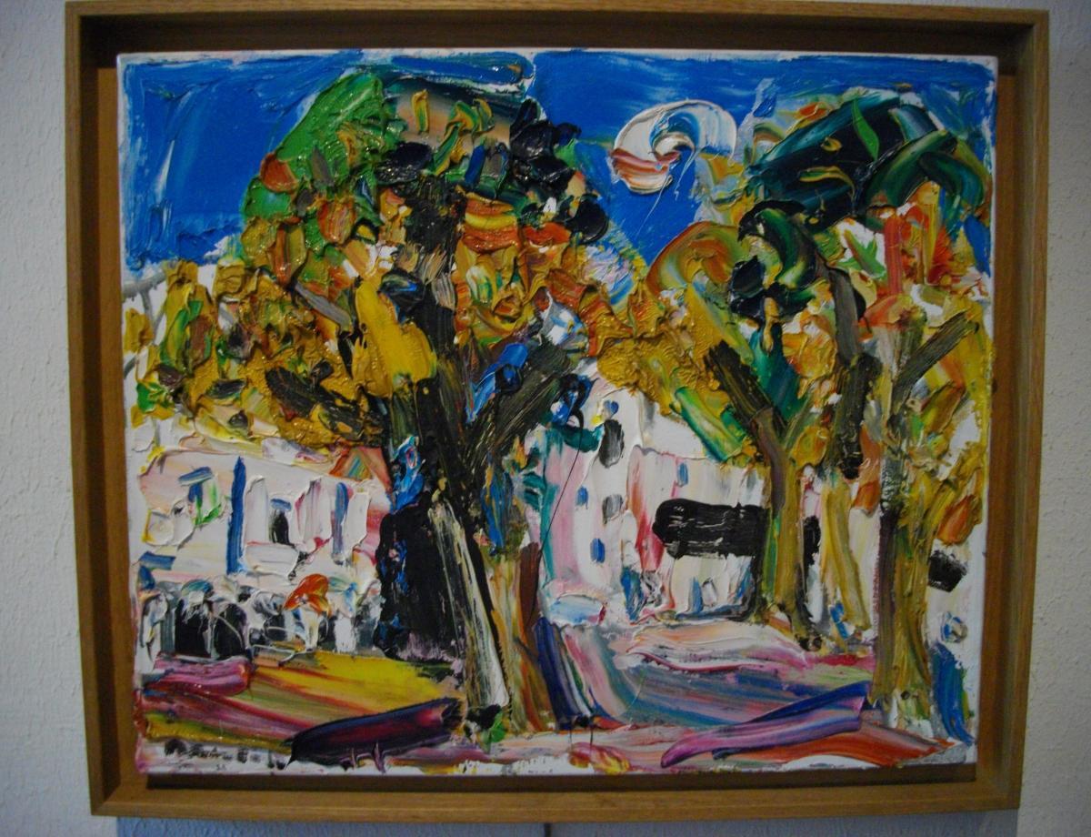 Damiano Bernard (1926-2000) Landscape