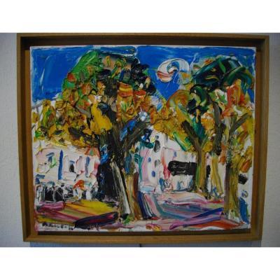 Damiano Bernard (1926-2000) Paysage