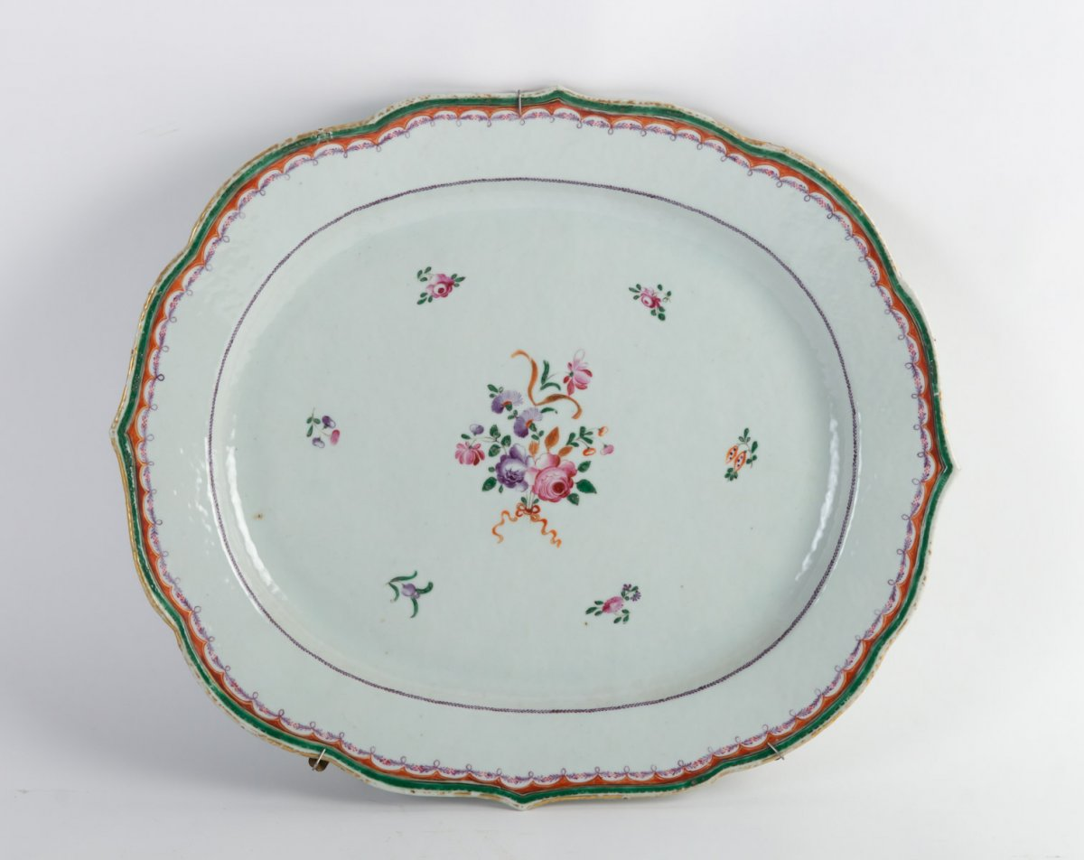 Large Dish From The East India Company