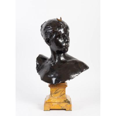 Bust Of Diane By Alexandre Falguière