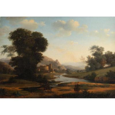 Italian Landscape Around 1830