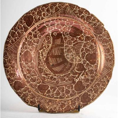 17th Century Manises Faience Dish