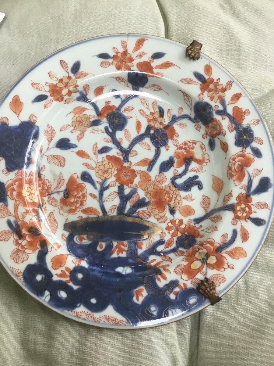 Imari Plate, Japan, 18th Century-photo-2