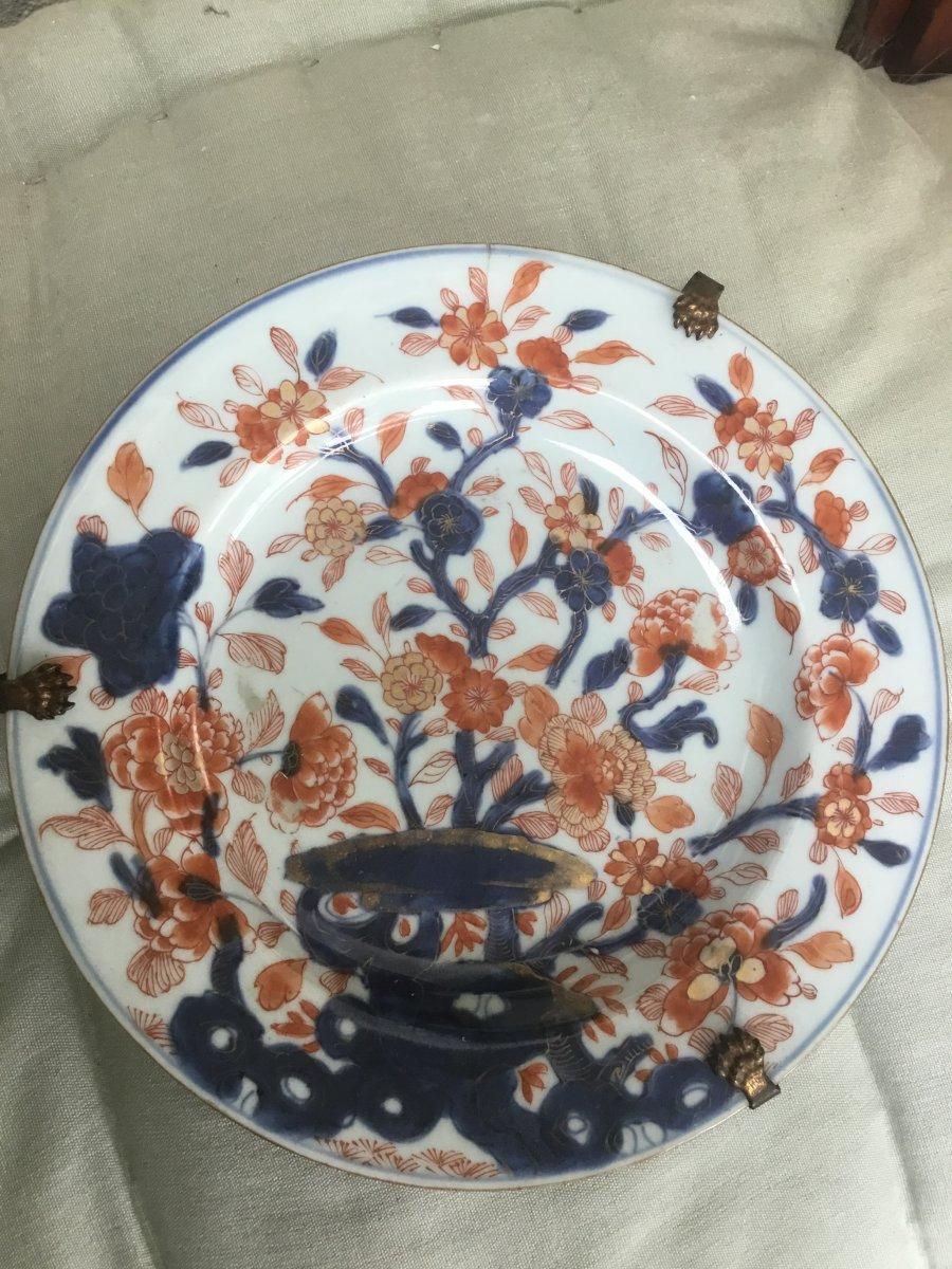 Imari Plate, Japan, 18th Century-photo-3