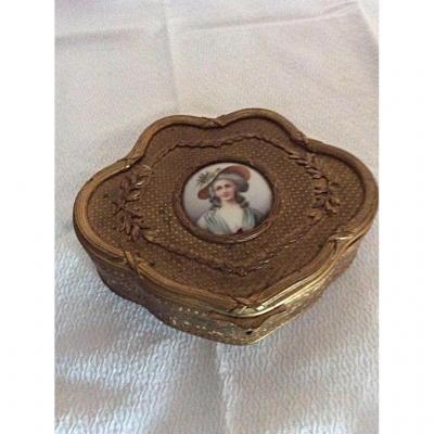 Repousse Copper Jewelry Box
