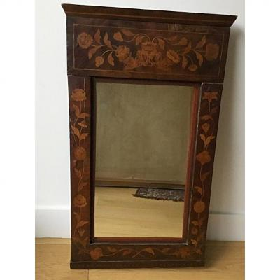 Petit Miroir Trumeau Charles X  , XIXème