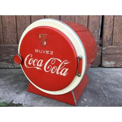 Coca Cola Refrigerated Refrigerated Cooler, 1950s