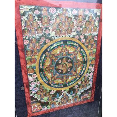 Tibétain Tanka