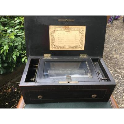 Music Box Inlaid With 6 Airs, XIX