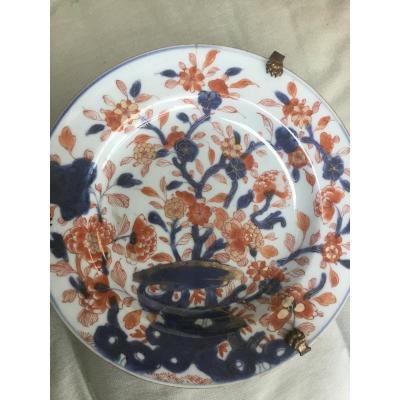 Imari Plate, Japan, 18th Century