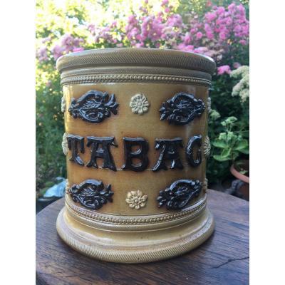 Folk Art, Sandstone Tobacco Pot
