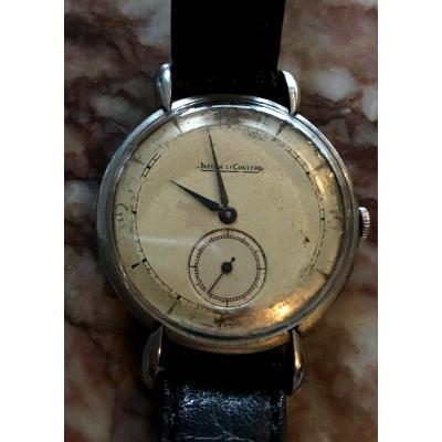 Montre Bracelet Acier Jaeger Lecoultre Circa 1960
