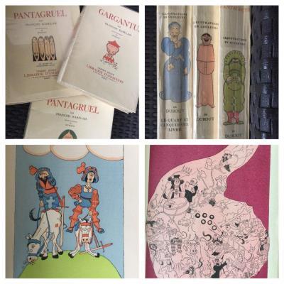 Rabelais.gargantua Et Pantagruel .gibert Jeune 1935-1937 -, Paris. 3 Volumes