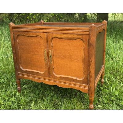 Louis XV Style Chest On Wheels