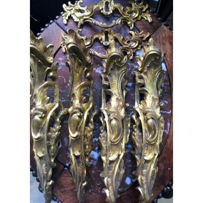 Lot Of Important Furnishing Bronzes, Nineteenth