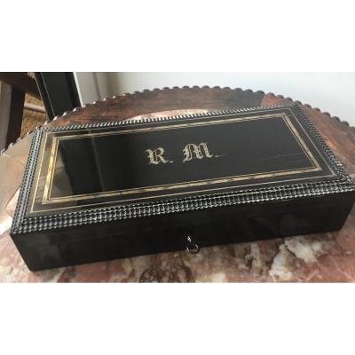Napoleon III Monogrammed Rm Box