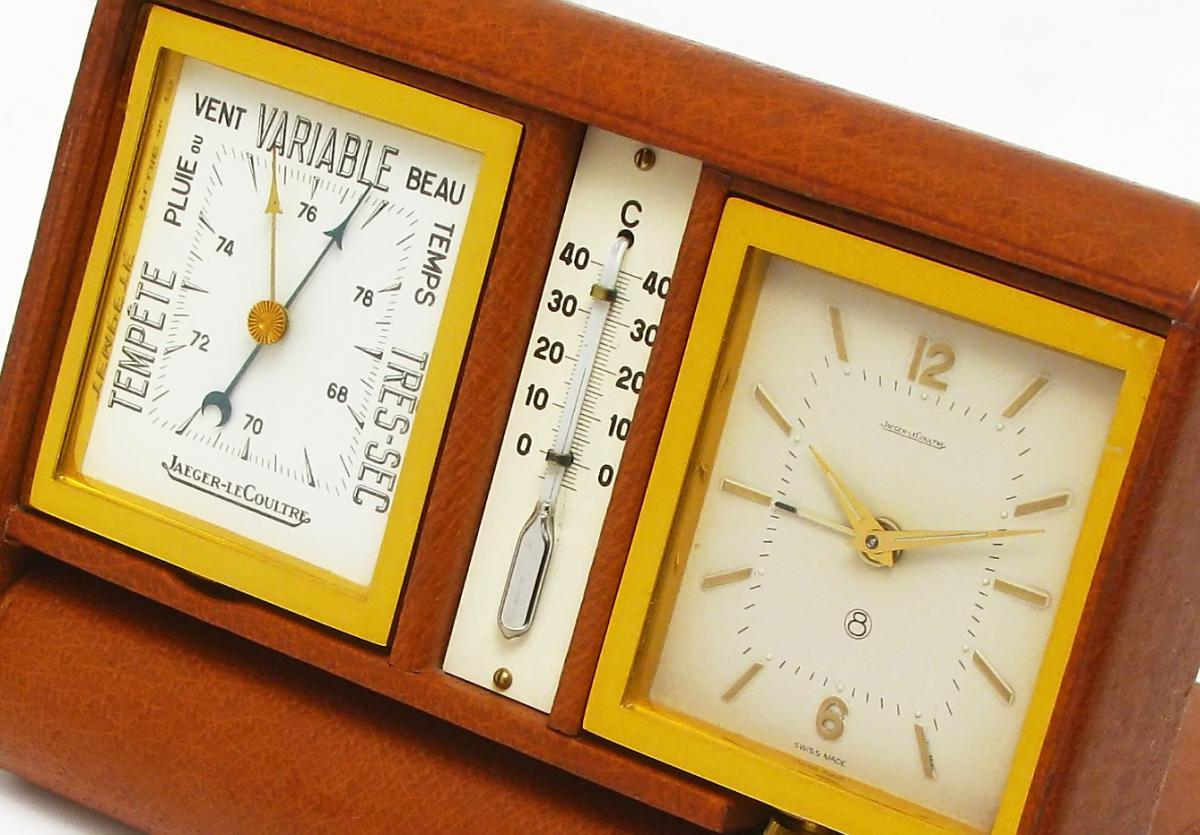 Jaeger-lecoultre Clock Barometer-thermometer Ados.1950 - wrist watches