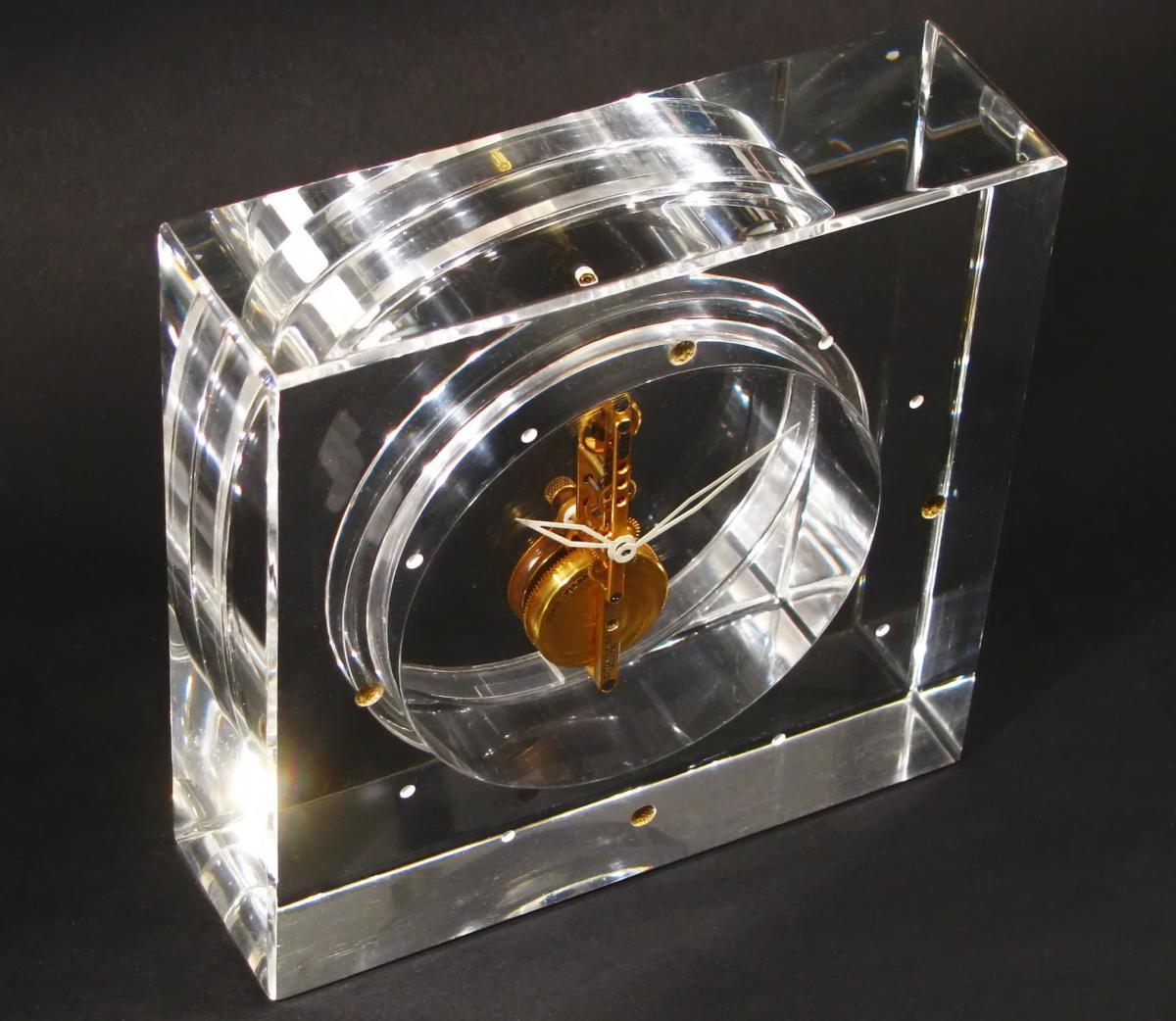 Pendulette Baguette Jaeger-LeCoultre Cal. 210. Plexiglass