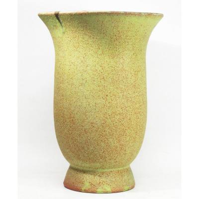 Grand Vase En Céramique d'Accolay 1950
