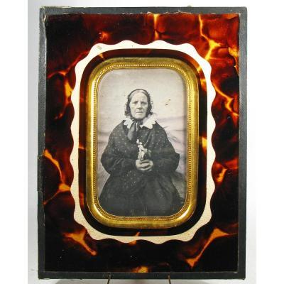 Daguerréotype d'Une Vieille Provinciale 1850