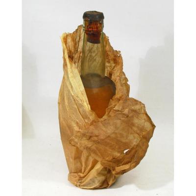 Demi-bouteille De Chartreuse jaune Tarragone 1904. Pères Chartreux.