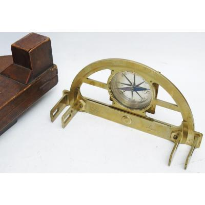 Pinnules Graphometer, Circa 1790. By Pigeon At Lyon.