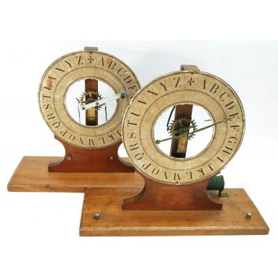 Demonstration Breguet Telegraph, For School. 1880