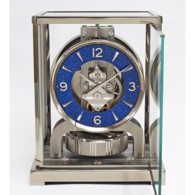 Pendule Atmos Jaeger-lecoultre Nickelée, Cadran Lapis-lazuli