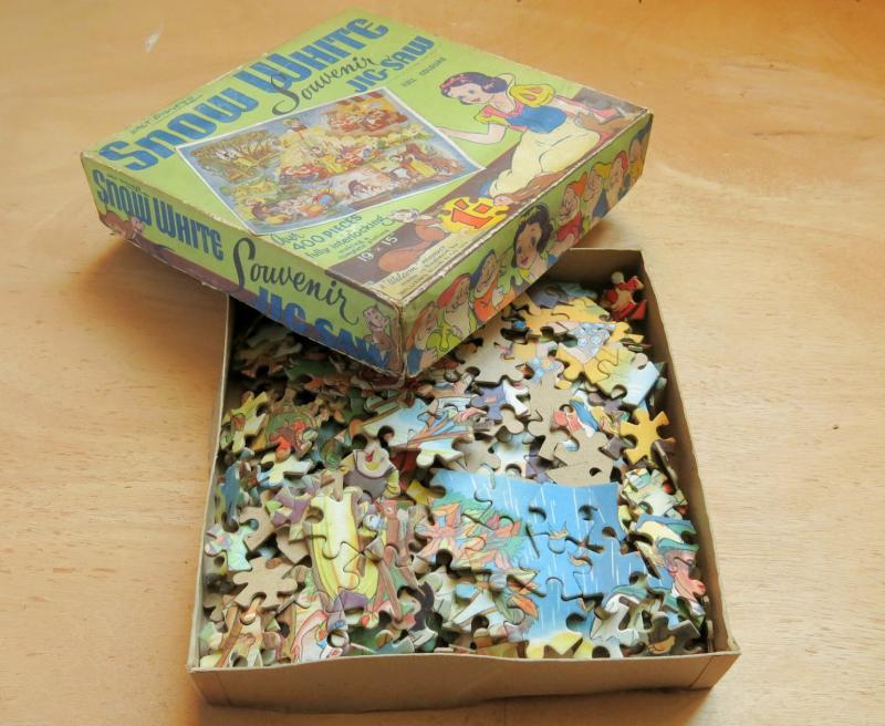 Puzzle Blanche Neige & Les 7 Nains, Walt Disney 1938. William Elils.-photo-3