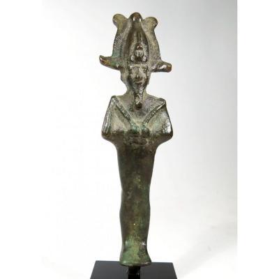Statuette Of Osiris In Bronze. Egypt Ptolemaic Era.