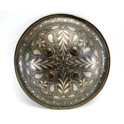 Rondache ottomane ou persane, fin XIX, début XXème.