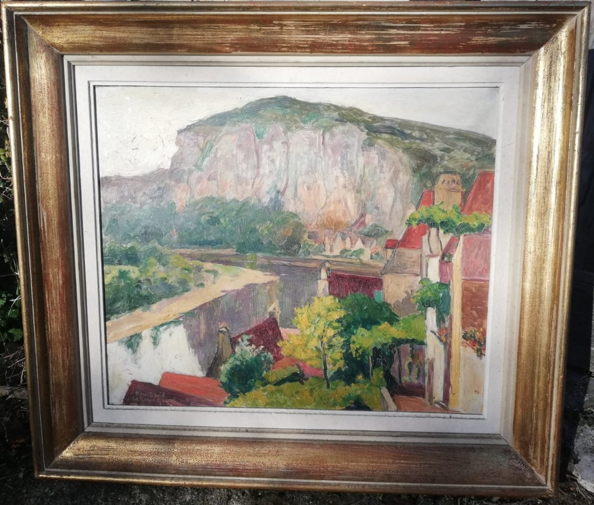 La Roque Gageac In Dordogne By Henri David